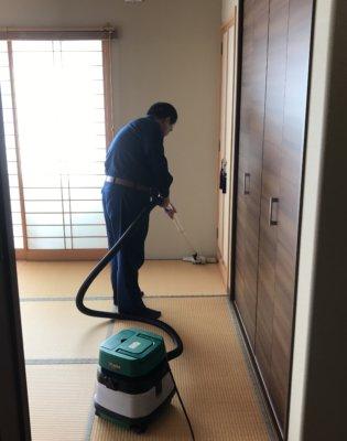 Step 4 室内の清掃